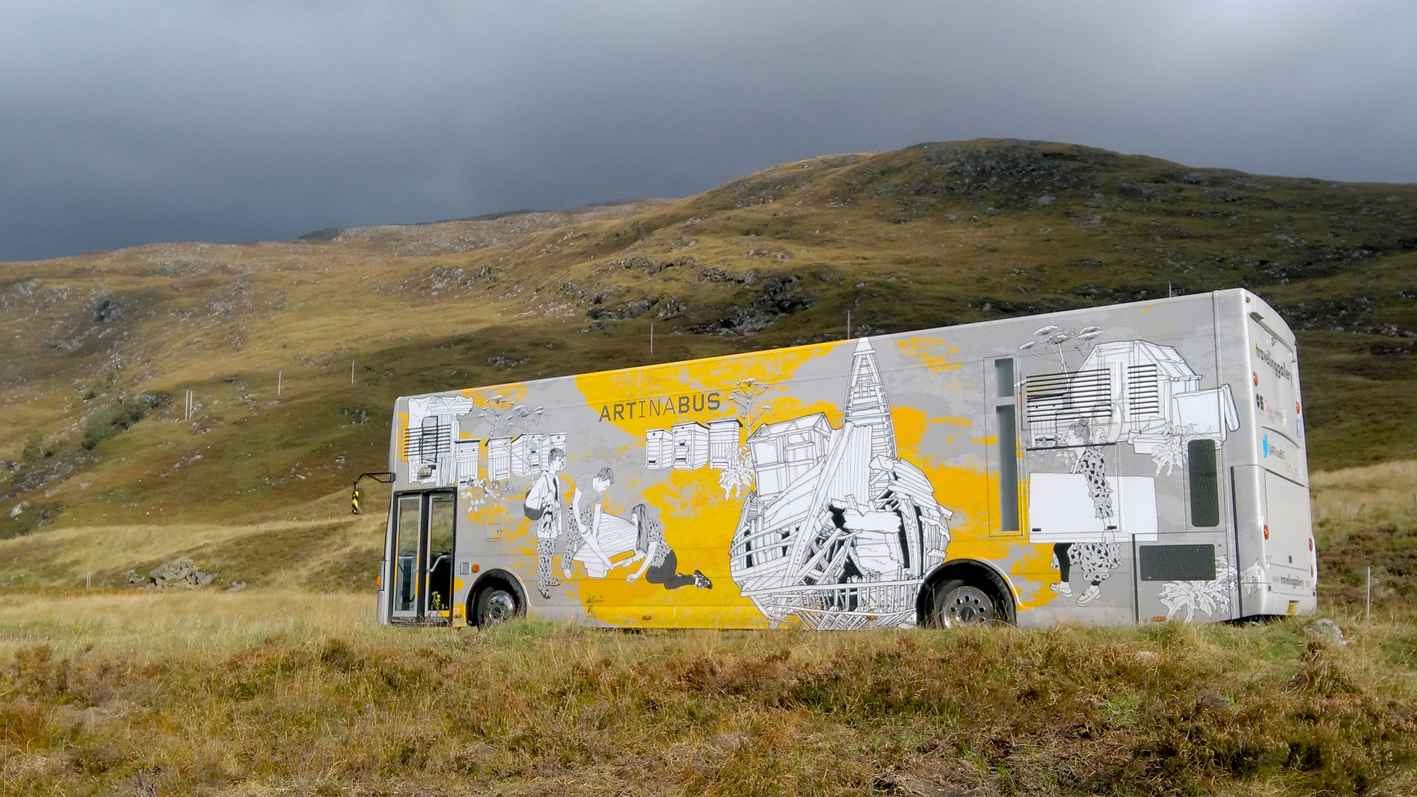 Travelling Gallery in Highlands
